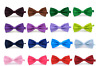 Satin Mens Pre Tied Fancy Plain Necktie tie Bow ties Wedding Part Prom