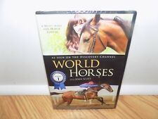 World of Horses: Season 1 (DVD, 2011) with John Scott - BRAND NEW, SEALED