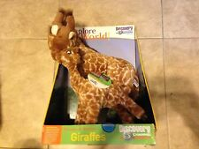 """Explore your World Mamas 16"""" & Babies 11"""" Giraffes Plush New Discovery Channel"""