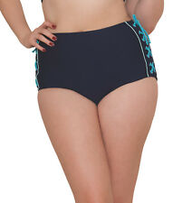 Curvy Kate CS4065 Set Sail High Waist Bikini Brief in Indigo Mix