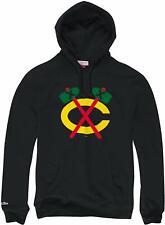 Chicago Blackhawks Mitchell Ness Team History Pullover Hoody XXL