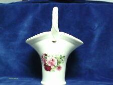 """Vase with Rose Design on Both sides 9 3/4"""" x 7"""""""