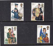Gran Bretaña Boy Scouts Serie del año 1982 (DK-185)