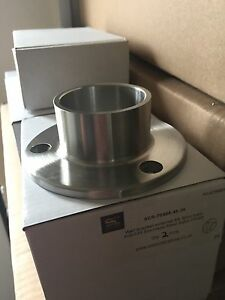 Stainless Steel Handrail Wall Flange / Ceiling Flange for 42.4mm Tube Stain