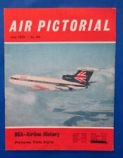 1969 Jul AIR PICTORIAL Magazine Vol 31 #7 VG BEA Hawker Siddeley Trident