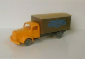 IMU Germany HO 1:87 Mercedes L 5000 Truck Spedition Has Writing On Box Top 1991