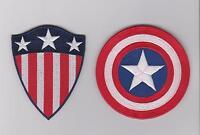 Captain America Movie Two SHIELD Logo Patch Set of 2 (CAPA-SET2) Iron/sew on