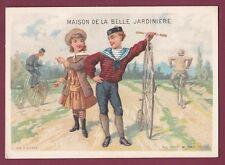 Chromo 250813 - LA BELLE JARDINIERE - SICARD - sport vélo grand bi cyclisme