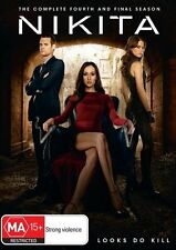 Nikita : Season 4 (DVD, 2014, 2-Disc Set)