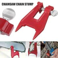 Stump Vise Professional Chainsaw Saw Chain Sharpening Bar Clamp Tool Filing R0L6