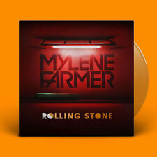 "Mylène Farmer 12"" Rolling Stone - Limited Edition, Orange Translucent - France"