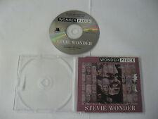 Stevie Wonder - wonder piece PROMO ( 15 tracks) - CD Compact Disc