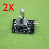 Brand New 2PCS KY-040 Rotary Encoder Module for Arduino AVR PIC Module
