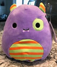 Nwt Squishmallows Halloween 7� Marvin the Monster Purple Plush Toy Htf Rare