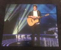 SAM WOOLF SIGNED 8X10 PHOTO AMERICAN IDOL W/COA+PROOF RARE WOW