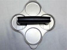 Nwot Williams-Sonoma Burger Press-Four 2 Oz Mini Burgers-Nonstick Cast Aluminum