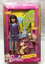 Barbie Sisters Train Taffy Skipper Chelsea Dolls Dog Brand New Excellent Sealed