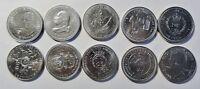 10 versch SONDER-Münzen England GB/ UK Queen Elizabeth II stgl-PP / Kapsel (1642