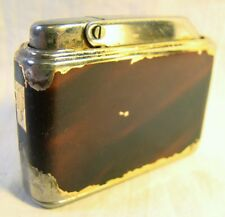 Vintage Colibri MonoGAS S23 Red Enamel Mid Century Lighter Sparking Well
