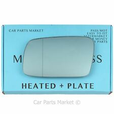 For Volvo s70 v70 1996-2000 Left side Blue Aspheric Electric mirror glass +plate
