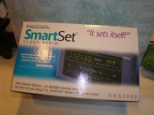 Smart Set Clock Radio, Emerson Research, NIB