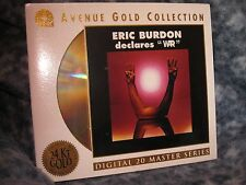"""ERIC BURDON DECLARES ""WAR"""" CD 24KT GOLD ERIC BURDON DIGITAL 20 MASTERS SERIES"