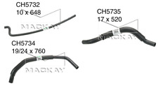 Mackay Coolant Expansion/Recovery Tank Hose set HOLDEN COMMODORE 1999~2005 5.7L