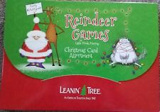 Leanin Tree Christmas Holiday Greeting Cards 20 Card Box Set Reindeer Games New