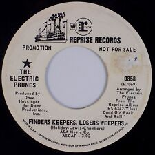 ELECTRIC PRUNES: Finders Keepers, Losers Weepers REPRISE DJ Promo '69 Psych 45
