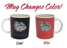 Color Changing! Gonzaga University Bulldogs Heat Sensitive Coffee Mug