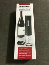New listing New Brookstone Automatic Wine Opener & Foil Cutter