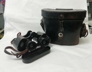 Carl Zeiss Jena Dienstglas Binoculars 6 x 30 - World War II - German & Case