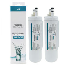 2 Pack Replacement Frigidaire WF3CB Pure Source LP15061 242069601 Water Filter