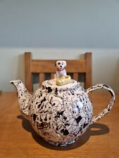 Rare Disney 101 Dalmations Teapot Paul Cardew Design 1999.