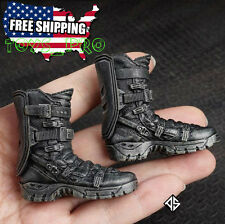 "1/6 The Avengers Hawkeye Combat Boots For 12"" Phicen Hot Toys Male Figure USA"