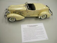 1935 Auburn 851 Boattail Speedster 1:18 th scale model Hamilton Mint