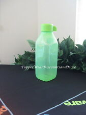 TUPPERWARE BRAND NEW 16 OZ GREEN SQUARE ECO WATER BOTTLE