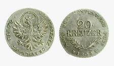 pcc2136_3)  Austrian States TYROL 20 Kreuzer KM# 149 1809