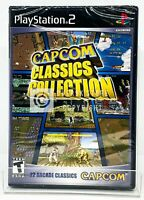 Capcom Classics Collection - PS2 - Brand New | Factory Sealed