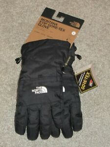 The North Face Boys Montana Etip Gore-Tex Gloves Black L
