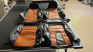 Fits For Nissan 350Z 2003-2008 SYNTHETIC LEATHER  SEAT COVERS.