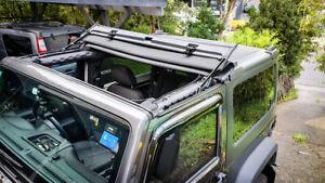 Jeep Wrangler JK/JKU Black Forest (By Webasto) Throwback Top