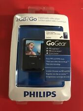 Philips GoGear SA3020 Blue 2GB Digital Media Player video player Sealed Package