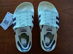 ***NEW*** Adidas Adilette Superstar White Men's Slip-on Slides