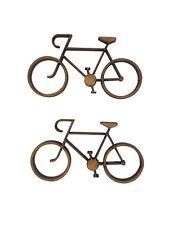 6x Bici Bicicleta 5cm Madera Craft Embelishments Forma De Corte Láser Mdf