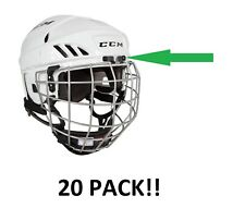 Ccm Fitlite Hockey Helmet Metal Cage Wire Clip! Repair Fix Hardware 20 Pack