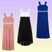Formal Dresses Amy's Closet Big Girls' Special Occasion Maxi or Hi-Low New NWT