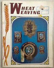 Mutual Press Publications Vintage Wheat Weaving Handbook Guide Unique Craft