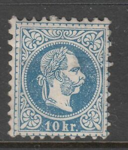 Austria - 10k Emperor Francis Joseph I Issue 1867 (MH) (CV $458)