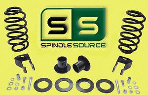"07-14 Chevrolet GMC 1500 SUV 1""-2""/4"" Drop Kit Strut Cups / RR Coils / Extenders"